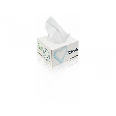 Tissue box flat