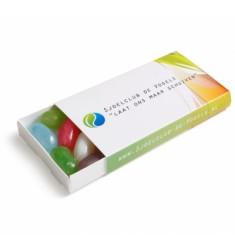 Jellybeans in bedrukt schuifdoosje