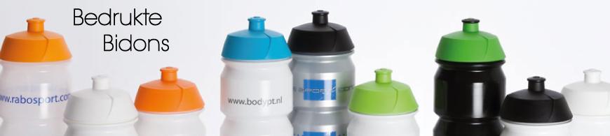 Bidons bedrukken, goedkoop bedrukte bidons met logo bestellen bij BINQ Promotions!