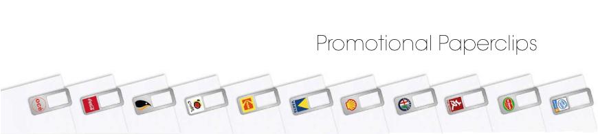 paperclips bedrukken - goedkoop bedrukte paperclips met logo bestellen? BINQ Promotions!